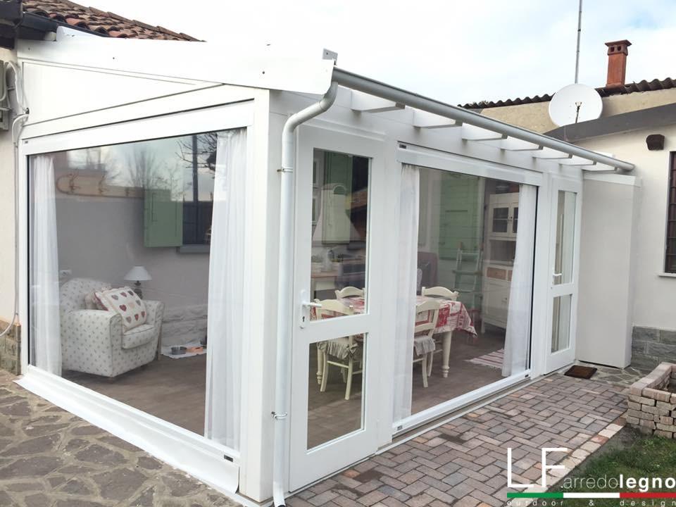 Casette in legno gazebo tettoie arredamento da giardino - Verande da giardino in legno ...