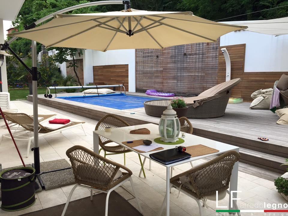 Arredo da esterni e mobili da giardino lf arredo legno for Arredo per esterni outlet